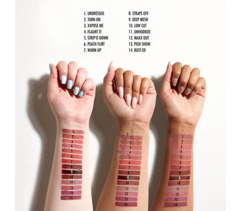 NYX Professional Makeup Lip Lingerie XXL Matte Liquid Lipstick Peek Show