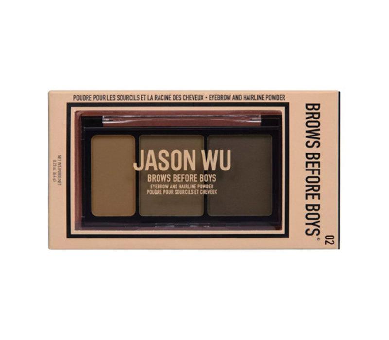 Jason Wu Beauty Brows Before Boys Gus