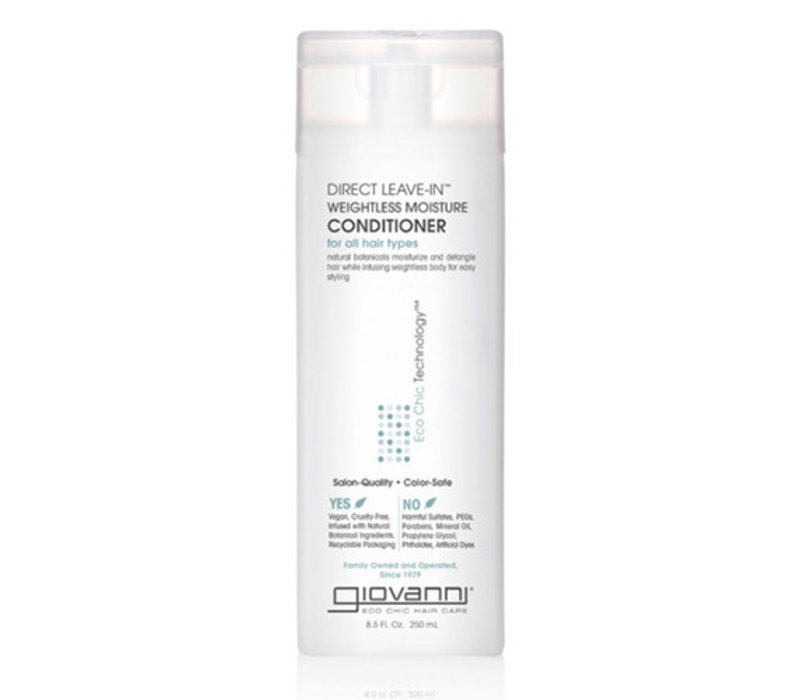 Giovanni Direct Leave In Weightless Conditioner