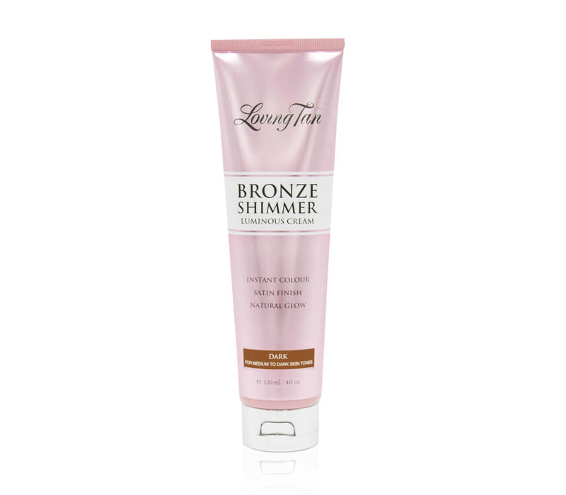 Loving Tan Bronze Shimmer Luminous Cream Dark