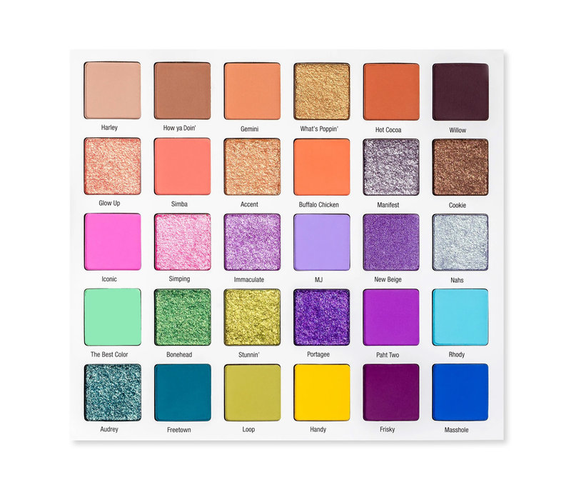 Glamlite X Mikayla Palette