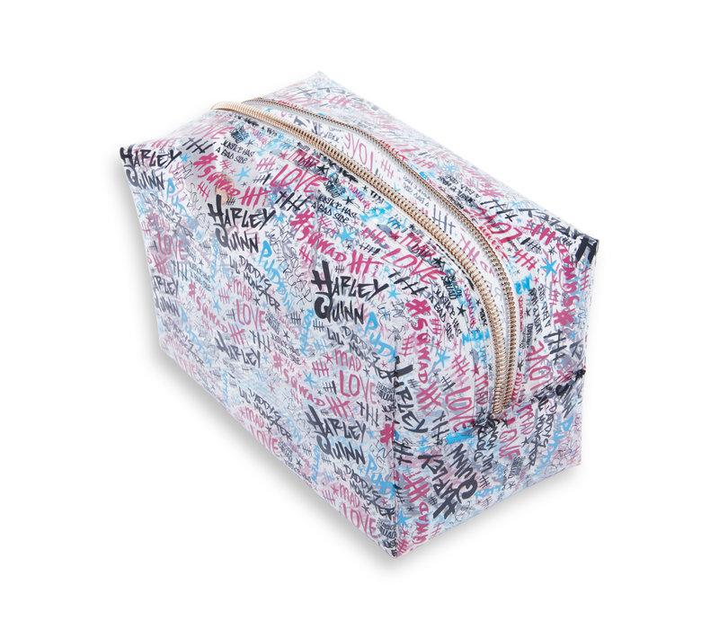 Makeup Revolution x Harley Quinn Puddin Makeup Bag