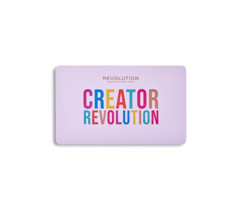 Makeup Revolution Creator Limitless Eyeshadow Palette Royal Colour