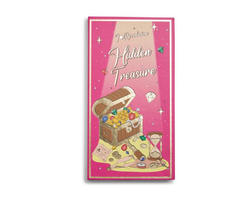 I Heart Revolution Book Of Spells Hidden Treasure Eyeshadow Palette