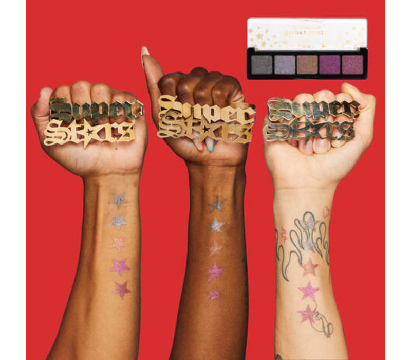 NYX Professional Makeup Holidays 2021 Gimme Super Stars! Color Palette Kissin My Stars