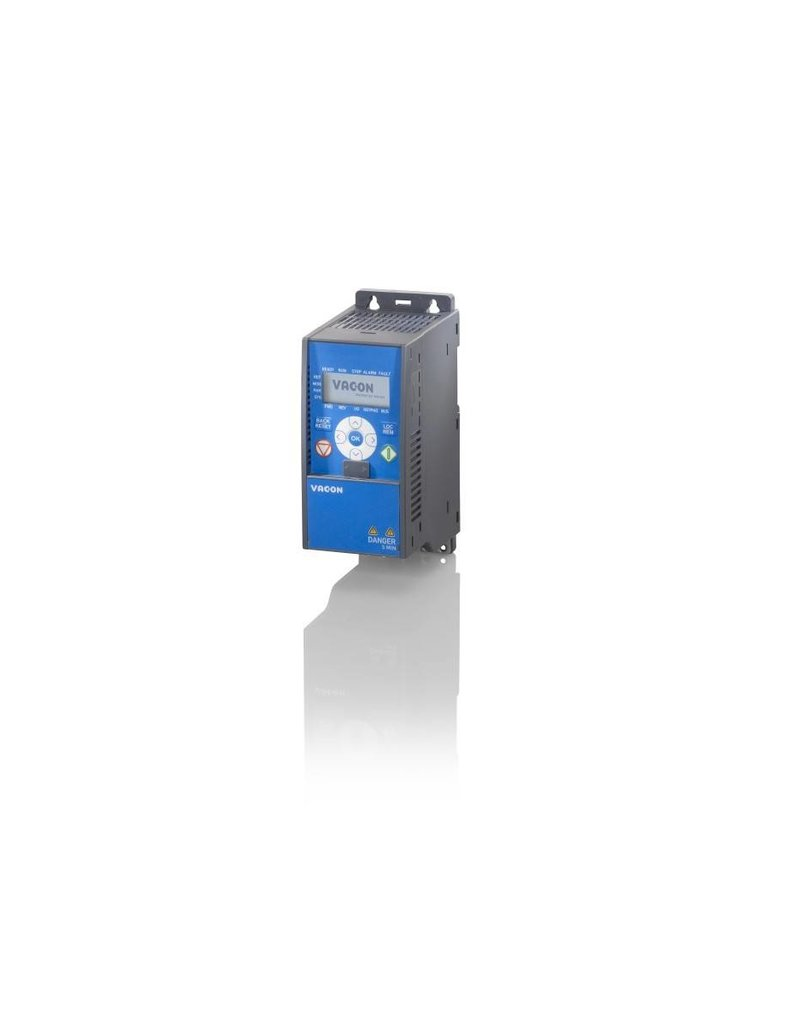VACON Danfoss VACON0020-1L-0001-2+EMC2+QPES   0,25kW   frequentieregelaar