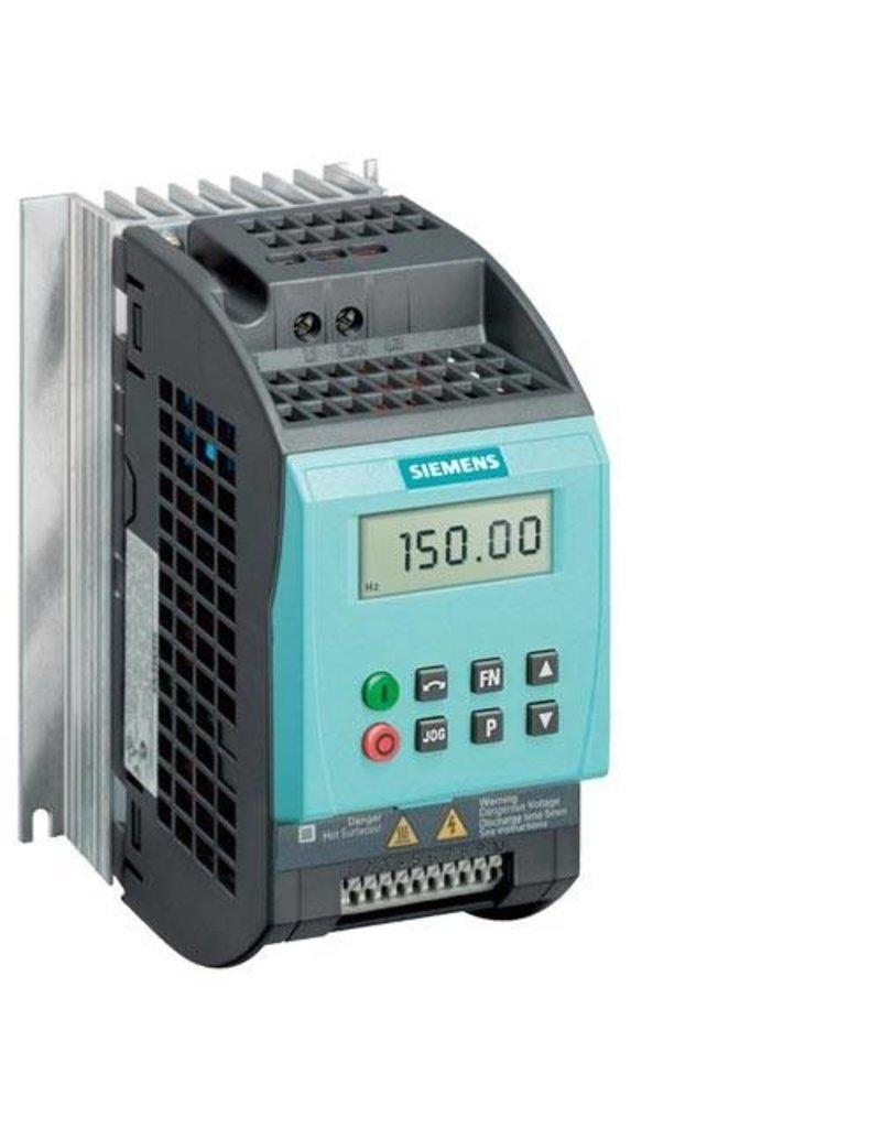 SIEMENS 6SL3211-0AB12-5BA1   0,25kW   frequentieregelaar