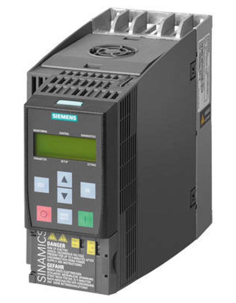 SIEMENS 6SL3210-1KE21-7UB1   7.5kW   frequentieregelaar zonder filter