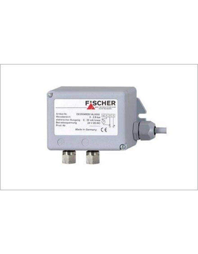 FISCHER DE28F5M295AL 400 kPa 0-20mA verschildruktransmitter
