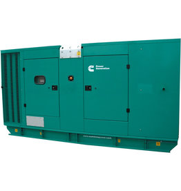CUMMINS C220 D5 - GESLOTEN  220 kVA