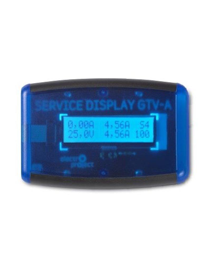 ELECTROPROJECT  Servicedisplay t.b.v. GTV-A voedingen
