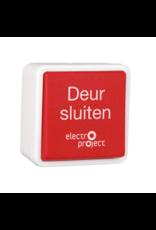 HEKATRON Hand-ontgrendeldrukknop opbouw/inbouw tekst Nederlands IP20