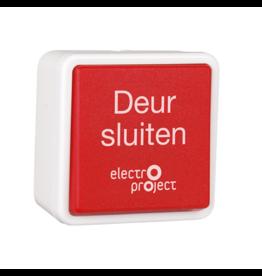 HEKATRON HAT-02 NL Hand-ontgrendeldrukknop opbouw/inbouw tekst Nederlands IP20