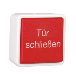 HEKATRON HAT-02 DE Hand-ontgrendeldrukknop opbouw/inbouw tekst Duits IP44