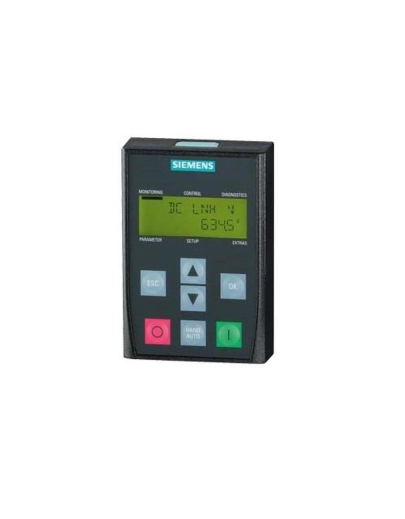 SIEMENS 6SL3255-0AA00-4CA1   Basis Bedienpaneel (BOP-2) tbv G120 (PM230, PM240/250/260)