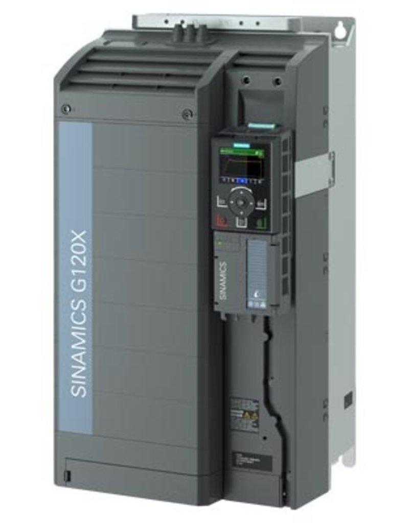 SIEMENS 6SL3220-3YE44-0AB0   90kW G120X frequentieregelaar met IOP-2 grafisch kleuren display en RFI filterklasse C2