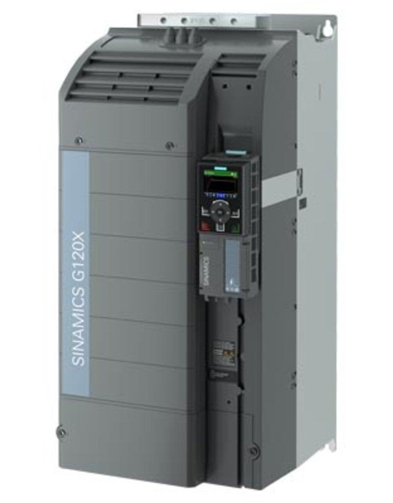 SIEMENS 6SL3220-3YE42-0AB0   75kW G120X frequentieregelaar met IOP-2 grafisch kleuren display en RFI filterklasse C2