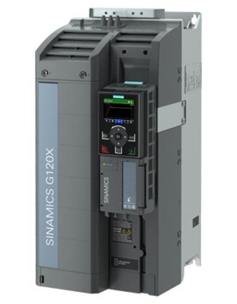 SIEMENS 6SL3220-3YE36-0AB0   37kW G120X frequentieregelaar met IOP-2 grafisch kleuren display en RFI filterklasse C2