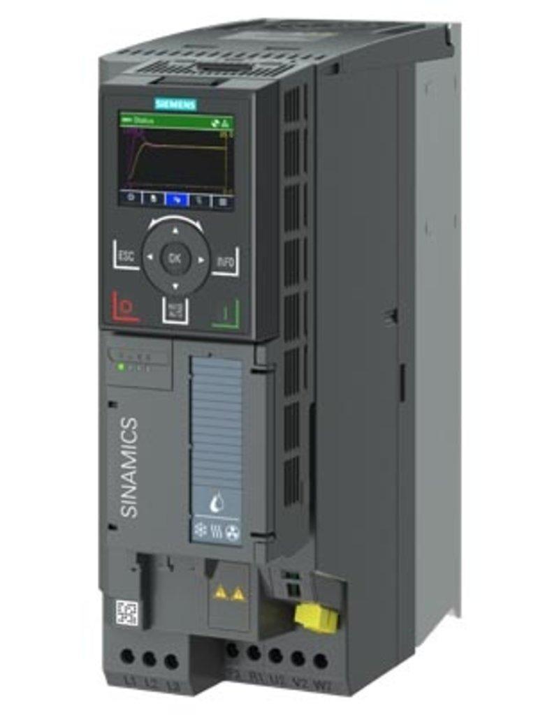 SIEMENS 6SL3220-3YE22-0AB0 5,5kW G120X frequentieregelaar met IOP-2 grafisch kleuren display en RFI filterklasse C2