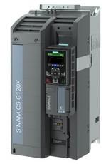 SIEMENS 6SL3220-3YE34-0AF0   30kW G120X frequentieregelaar met IOP-2 grafisch kleuren display en RFI filterklasse C2