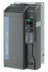 SIEMENS 6SL3220-3YE44-0AP0   90kW G120X frequentieregelaar met IOP-2 grafisch kleuren display en RFI filterklasse C2