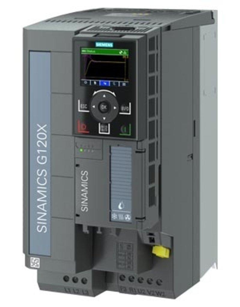 SIEMENS 6SL3220-3YE28-0AF0   15kW G120X frequentieregelaar met IOP-2 grafisch kleuren display en RFI filterklasse C2