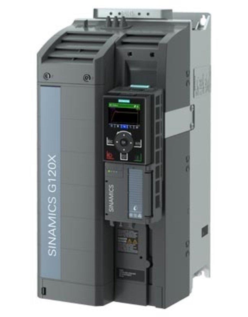 SIEMENS 6SL3220-3YE32-0AF0   22kW G120X frequentieregelaar met IOP-2 grafisch kleuren display en RFI filterklasse C2