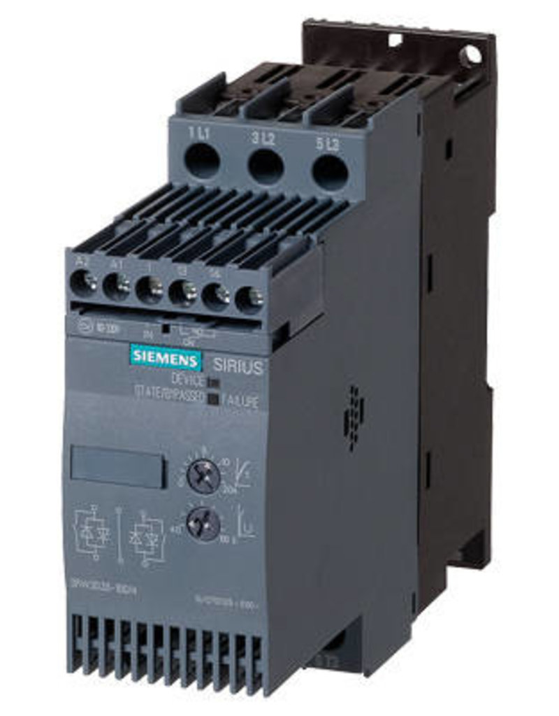 SIEMENS 3RW3018-1BB14   7,5 kW   softstarter