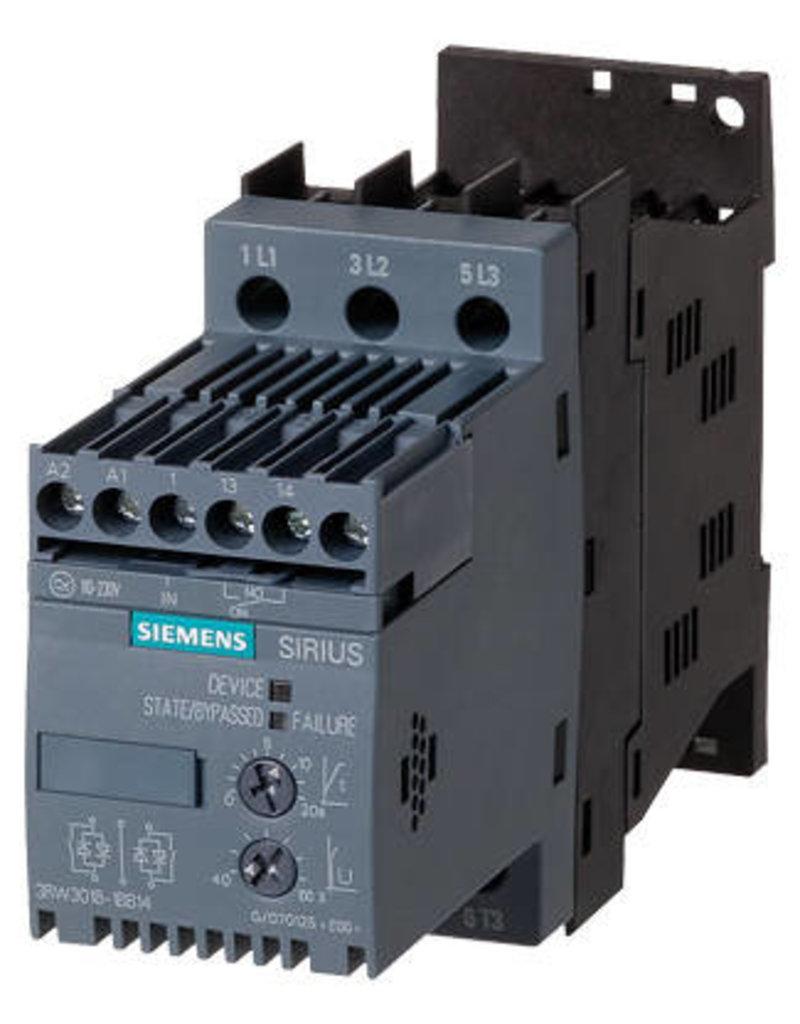 SIEMENS 3RW3014-1BB14   3 kW   softstarter