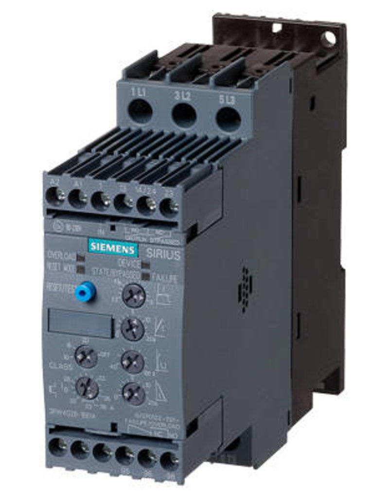 SIEMENS 3RW4024-1BB14   5.5 kW   softstarter