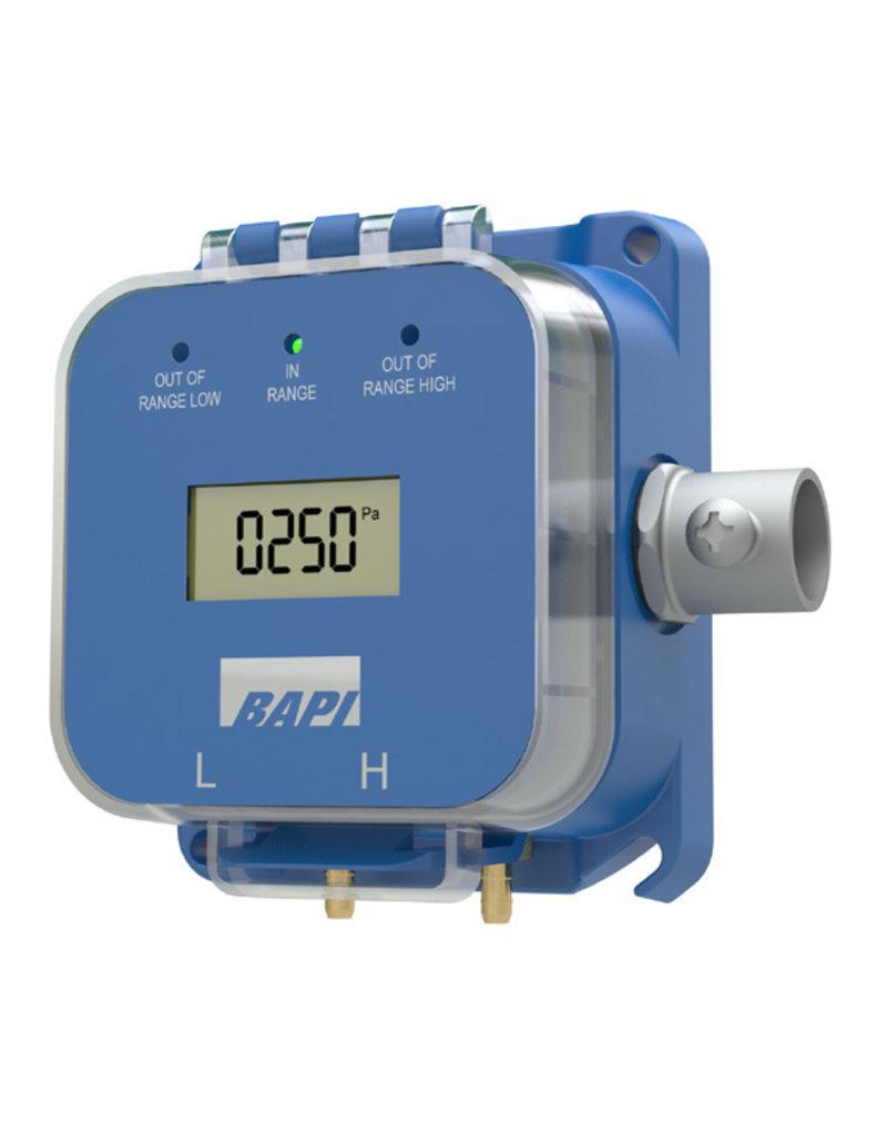 BAPI BA/ZPM-SR-ST-D -7400Pa  tot 7400Pa verschildrukopnemer