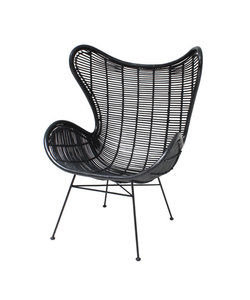 HKliving Egg Chair Rattan