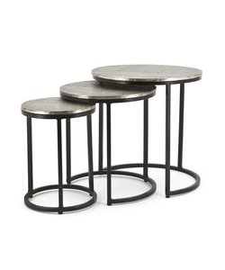 BY-BOO Salontafel Set Trapeze Rond