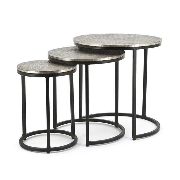 By-Boo BY-BOO Salontafel Set Trapeze Rond