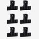 vtwonen vtwonen Clips Zwart (set van 6)