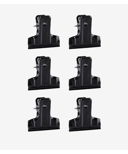 vtwonen Clips Zwart (set van 6)