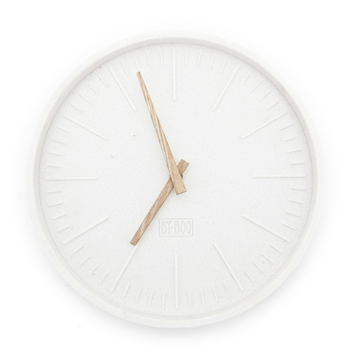 By-Boo By-Boo Wandklok Justin Time Rond