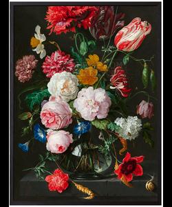 VanillaFly Poster Springflowers 30x40