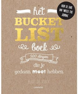 Het Bucketlist boek 500 dingen die je gedaan moet hebben