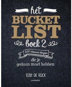 Het Bucketlist Boek 2 500 nieuwe dingen die je gedaan moet hebben