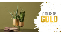 A touch of gold: gouden accessoires in huis