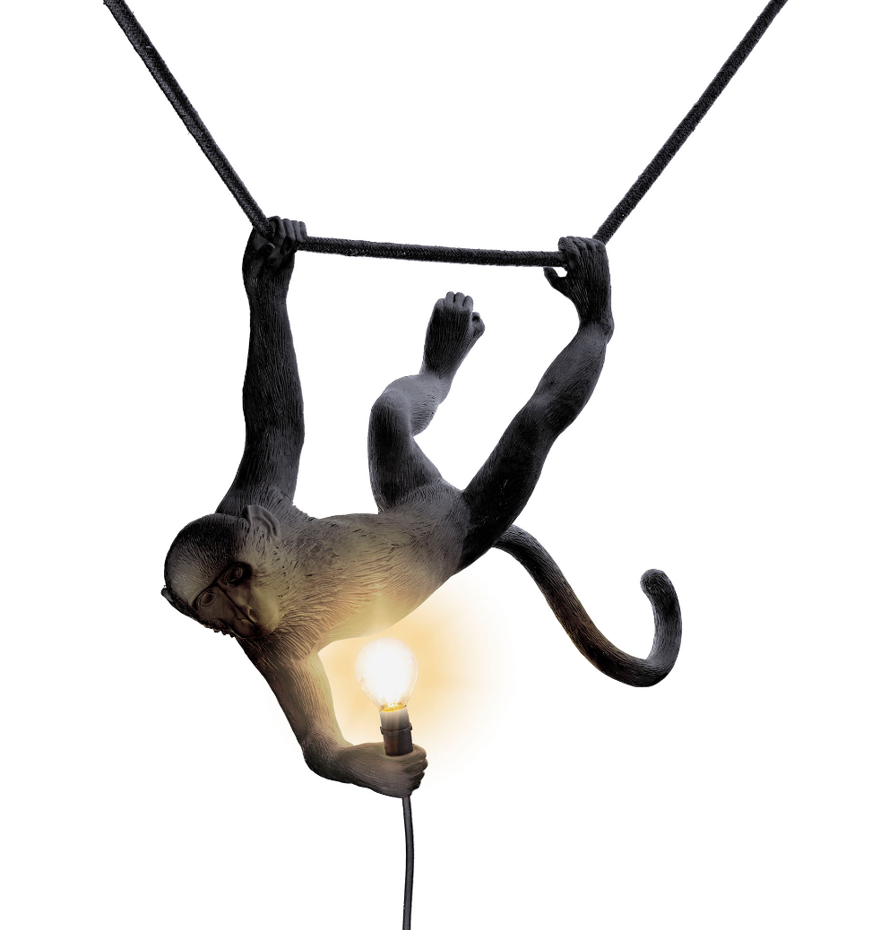 Seletti Seletti Hanglamp Swing Monkey