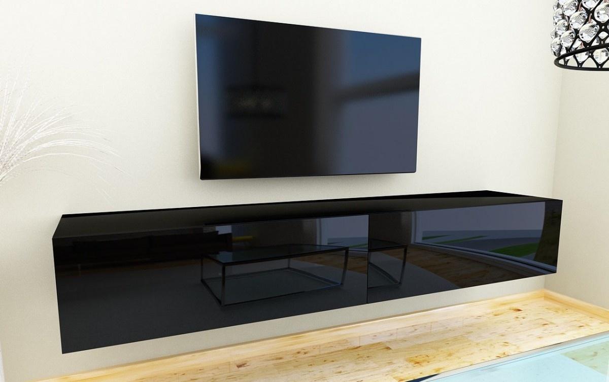 Nasmaak Nasmaak Zwevend TV Meubel Galicia Hoogglans