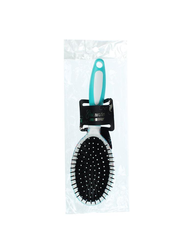 Haarborstel, plastic, 24,5x7cm, 4-6 designs, NP-003