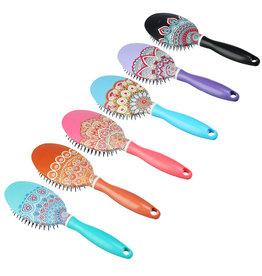 Haarborstel - 6 diverse designs