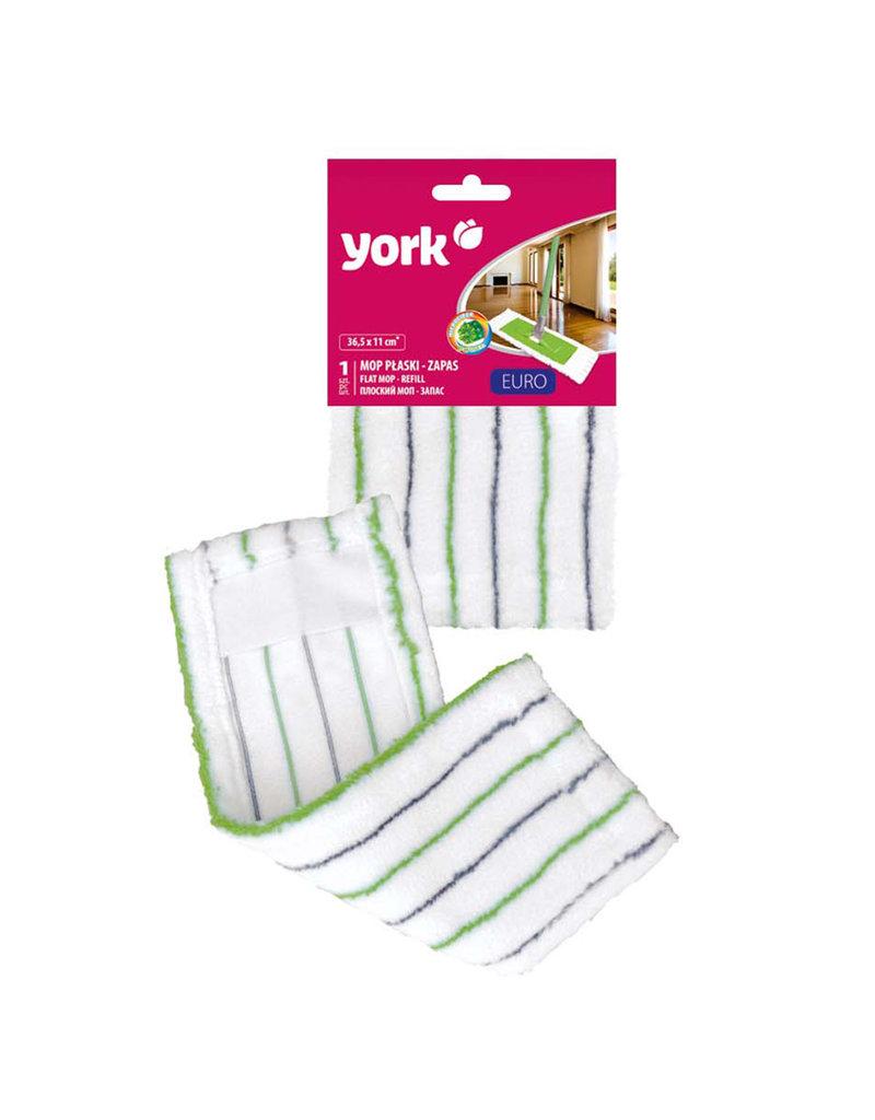 York York - Vervangingsdoek Platte mop EURO