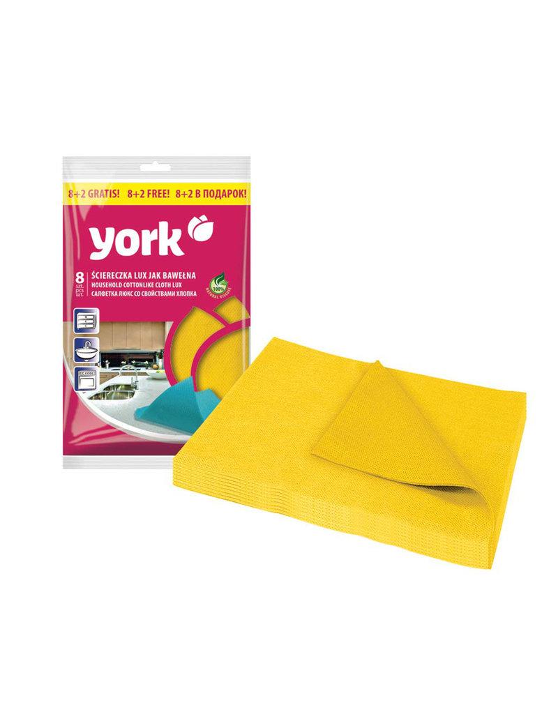 York York - Premium keukendoek - Cottonlike 8+2 Gratis