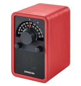 Sangean Sangean WR-15 BT Radio met Ingebouwde Speaker Rood