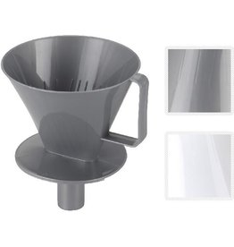 Basic Koffiefilterhouder + Tuit Assorti