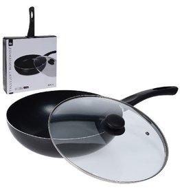 Excellent Houseware Excellent Houseware Hapjespan met Deksel 28cm